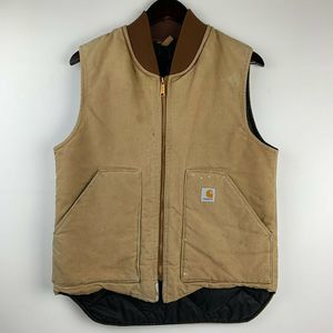 Carhartt Distressed Arctic Quilted Work Vest